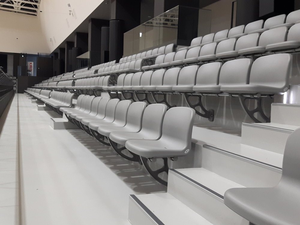 KIKKOMAN ARENA - NAGAREYAMA, JAPAN MAXAM PLUS WITH METRO CHAIRS AND stadia SEATS