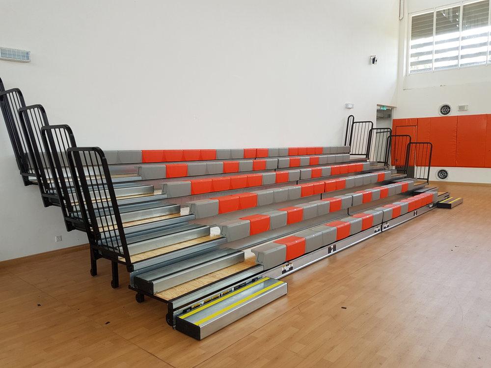 RAFFLES AMERICAN SCHOOL - JOHOR BAHRU, MALAYSIA MAXAM WITH COURTSIDE XC10 SEATS