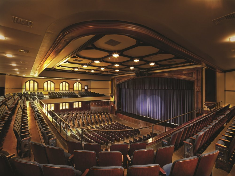 THEATER & AUDITORIUM