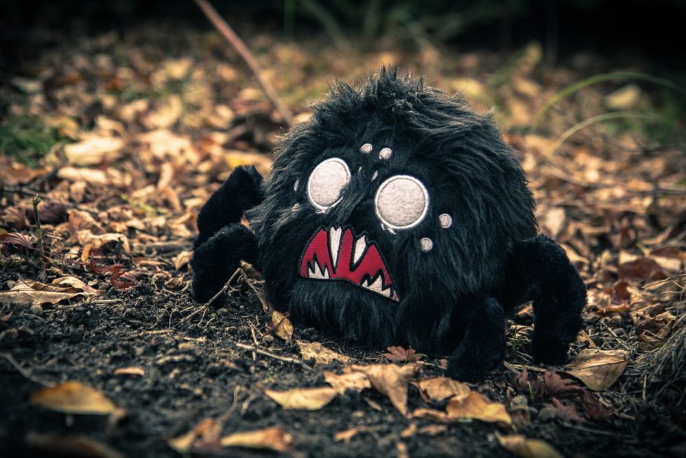 Don't Starve Black Hissing Spider