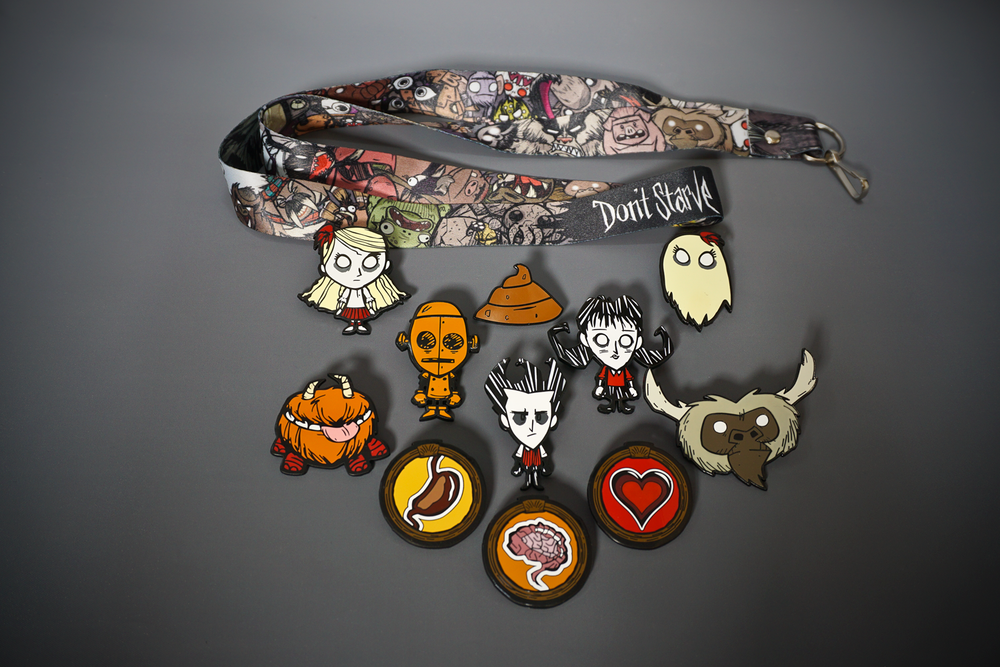Don't Starve Collector Pins