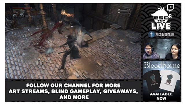 Come join us now as we play @Bloodborne_PS4  and giveaway a very special limited edition figure set by @erickscarecrow -https://www.youtube.com/watch?v=IQKl_nL9MAg