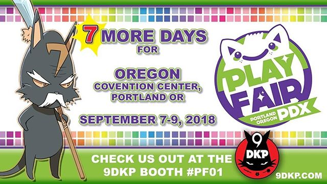 Only 7 days left until the next #9dkp TCG TOURNAMENT takes place at @playfairshows