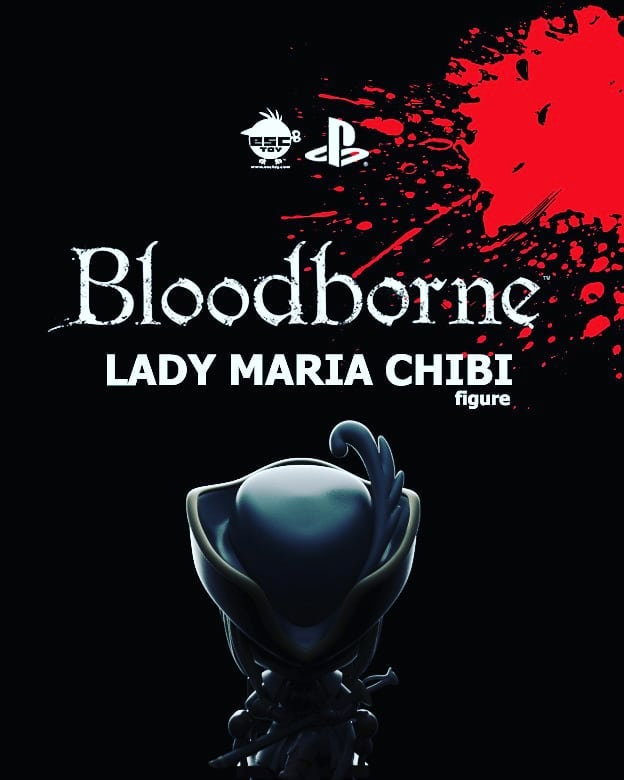Exclusive Bloodborne Lady Maria chibi figure are now up for pre-order! Special price ends 10/31/18! https://goo.gl/Ri46Wz