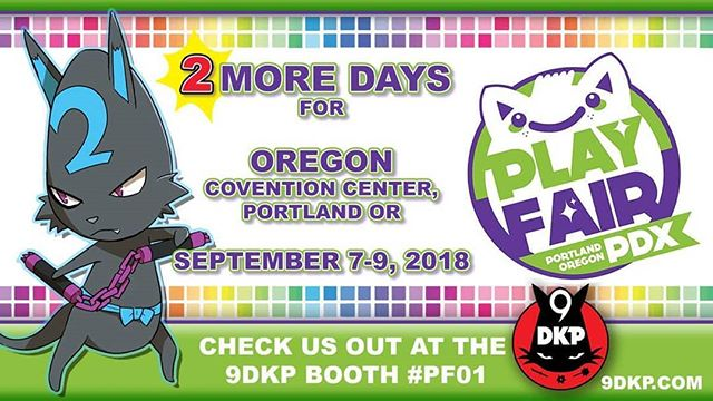 Only 2 days left until the next #9dkp TCG TOURNAMENT takes place at @playfairshows
