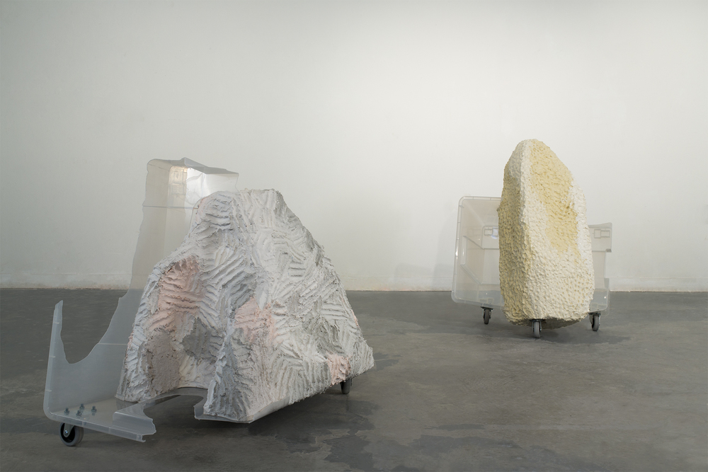 Granite and Pumice, installation view