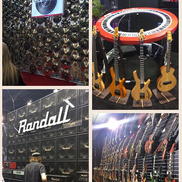 Some of the cool stuff I spotted at #NAMM