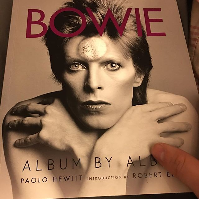 Finally getting around to digging into this. Tons of great stuff in here #ripbowie #ashestoashes #albumbyalbum #davidbowie