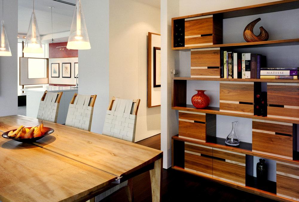 ©MichaelMoran_viaARCHITECTURE_CharlesStreetLoft_Dining-Room