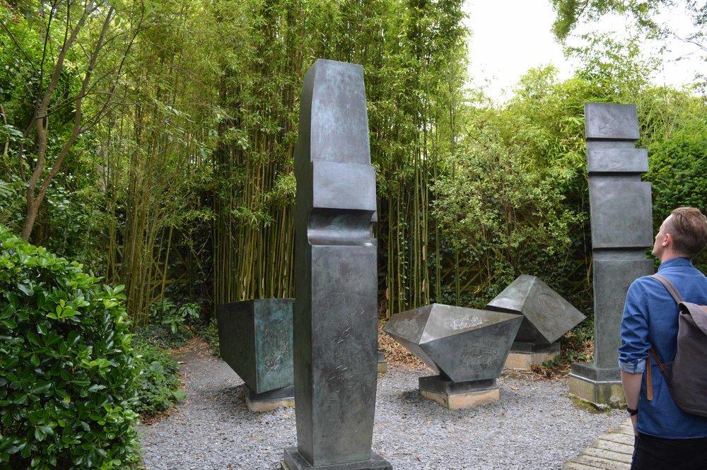 Barbara Hepworth Museum and Sculpture Garden in St Ives.