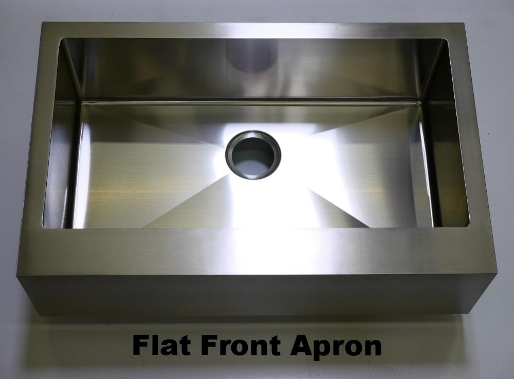 Flat Front Apron