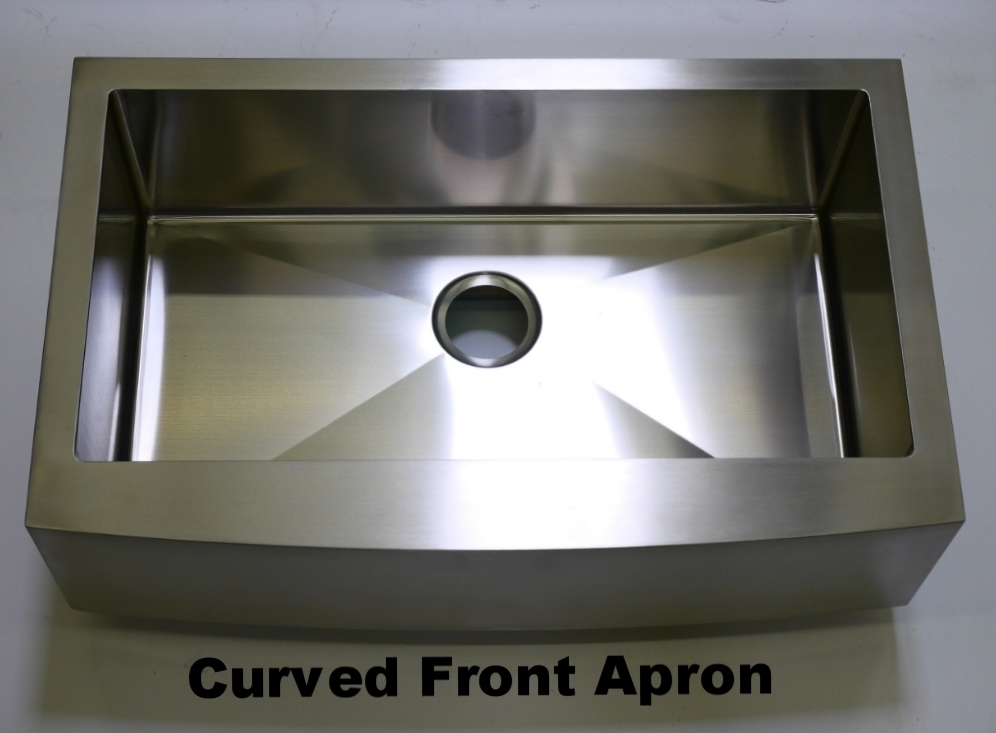Curved Front Apron