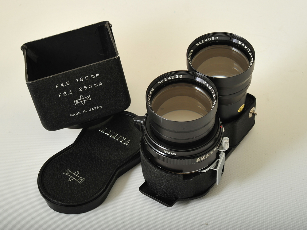 "180 mm f/4.5 ""Super"" telephoto lens"