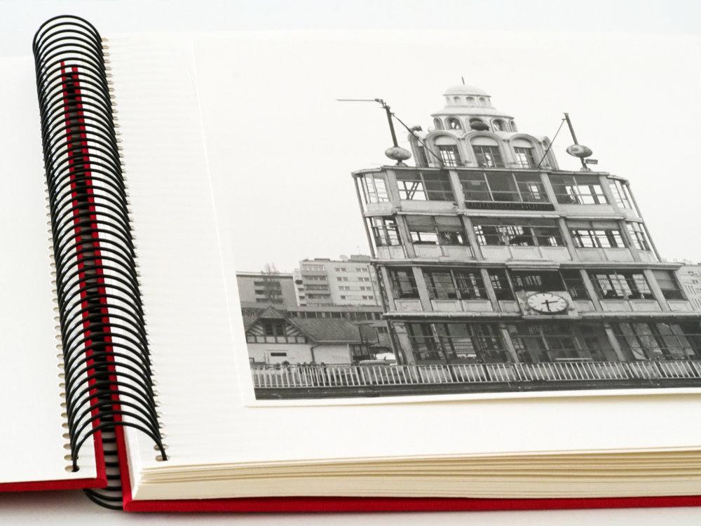 FB print stored in an acid-free photo album