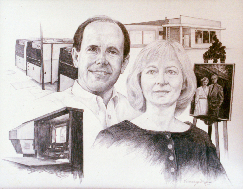 Portrait of Don & Barbara.