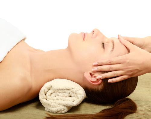 Massage on retreat in California