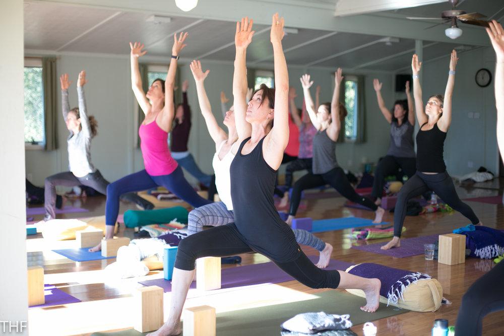 Yoga retreats in California