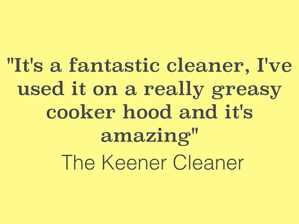 Brill cleaner testimonial
