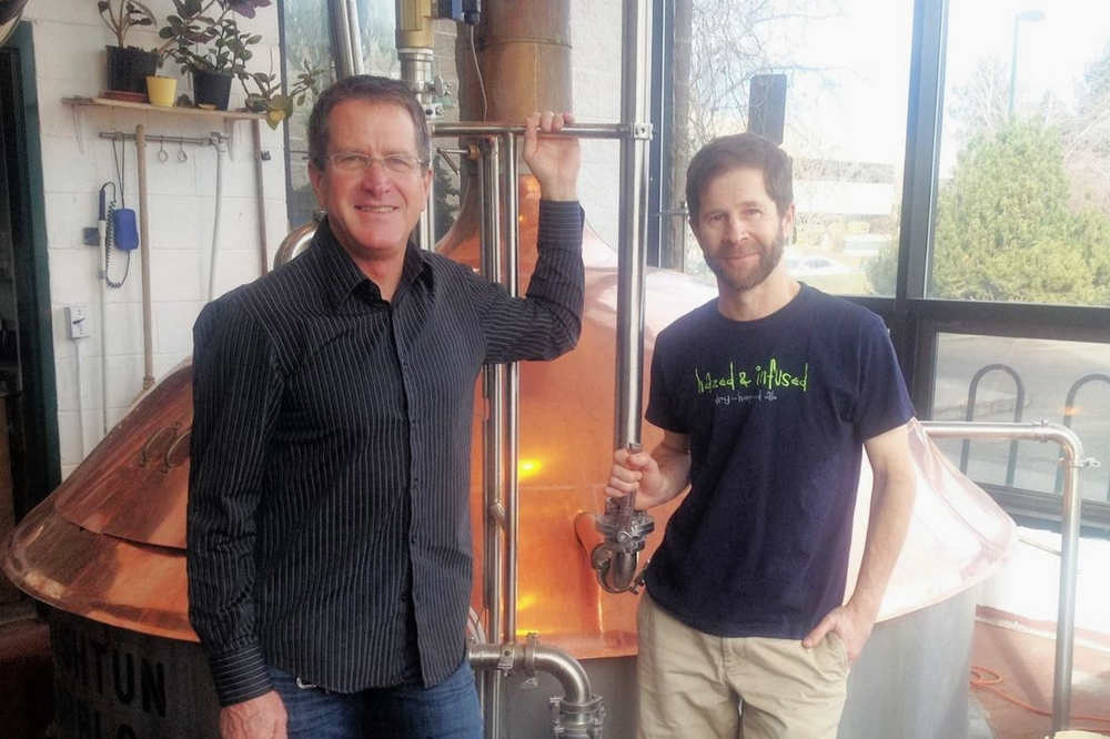 President Jeff Brown & Brewmaster David Zuckerman