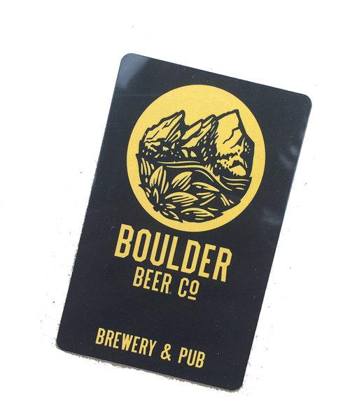 boulder beer gift card boulder beer
