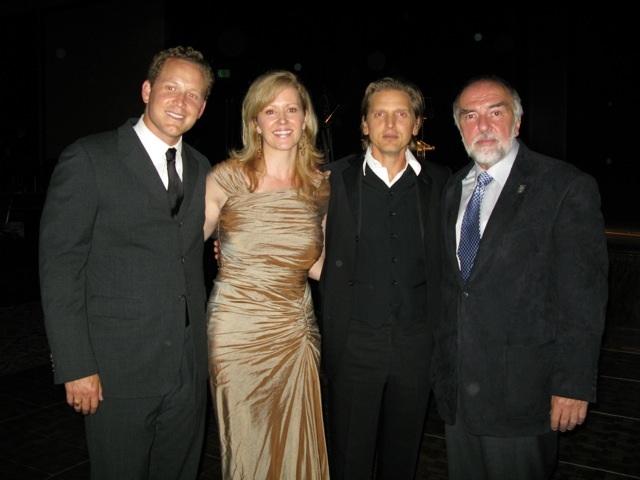 Barry Pepper, Cole Hauser & Steve Rivele