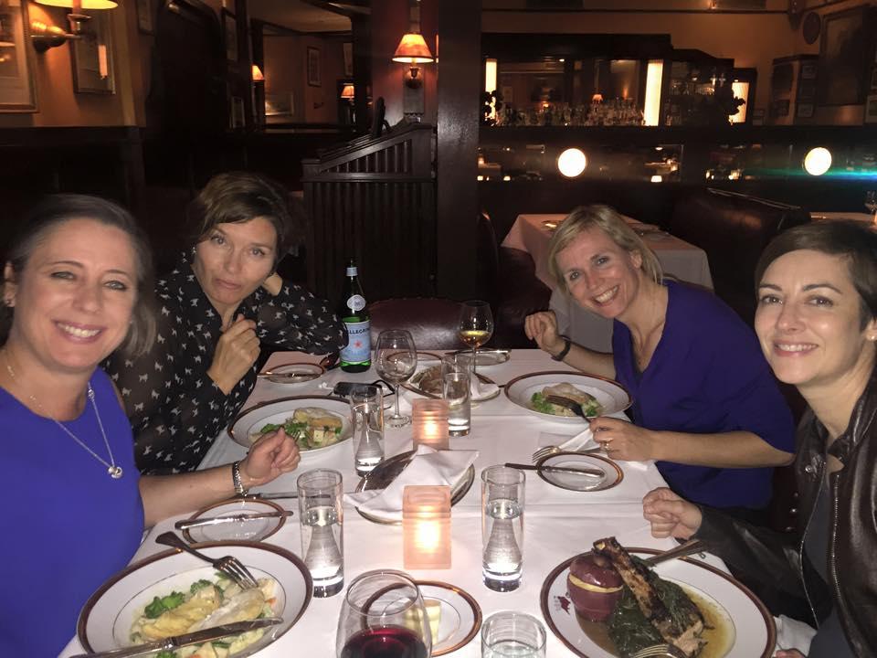 Power Brit Girls Dinner!