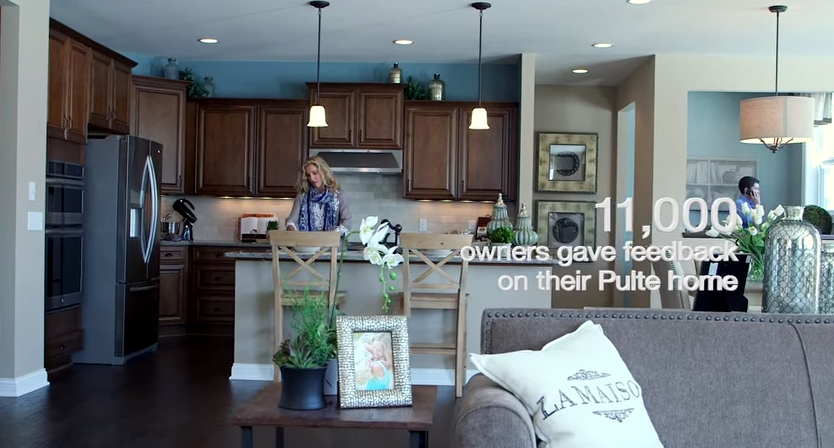 PUlte Homes -- View --