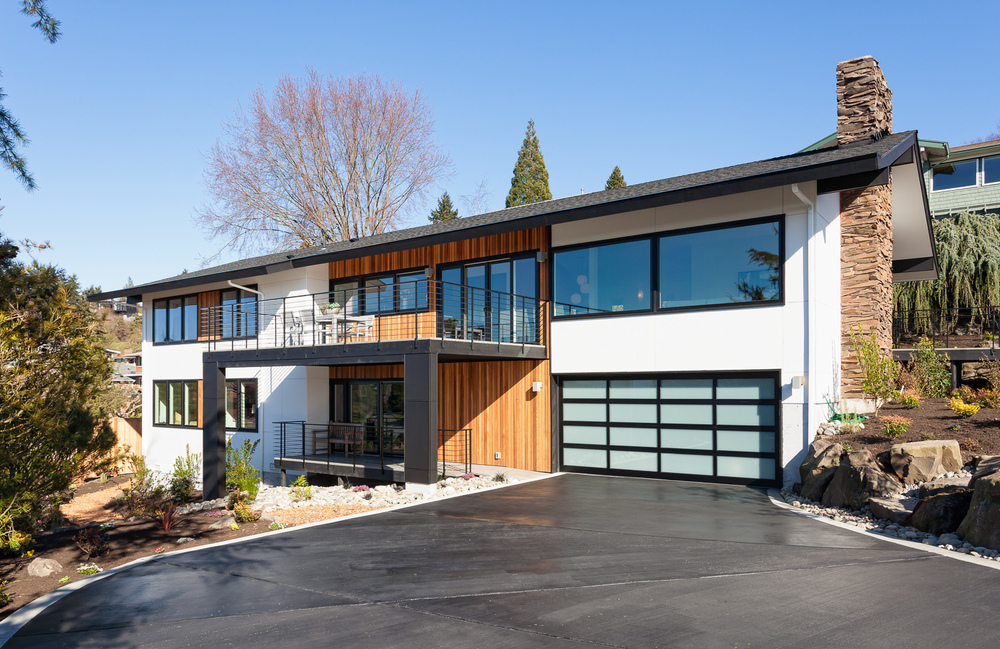 Complete remodel of mid-century home. Seattle, Washington