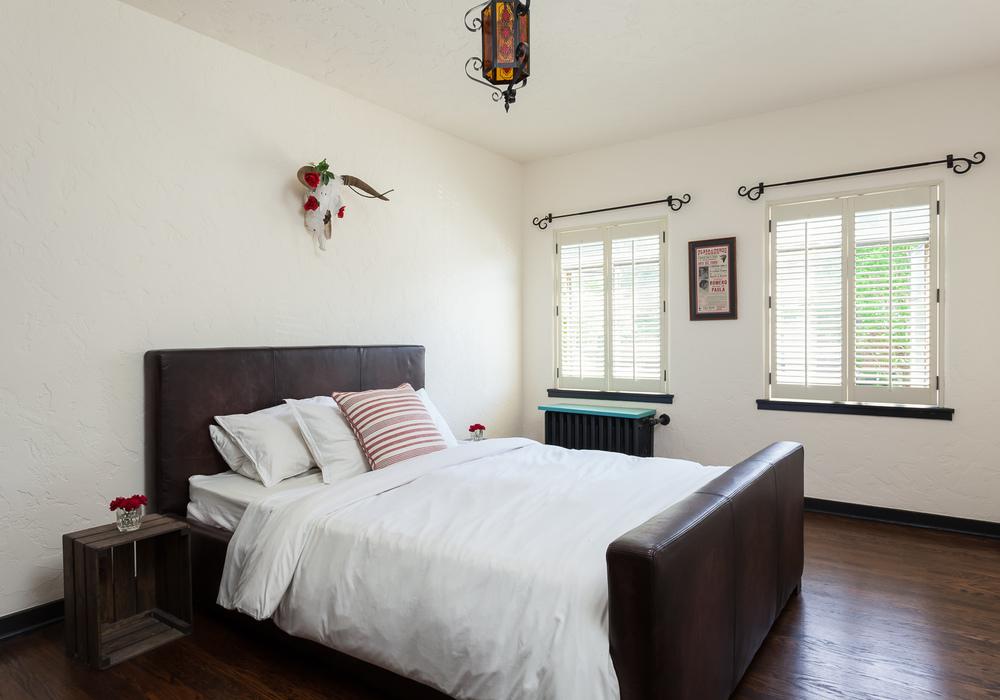 Bedroom. Condominium renovation. Seattle, Washington