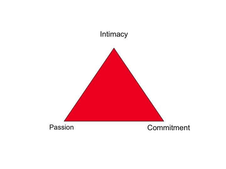 Triangular love scale