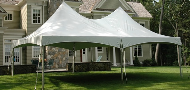 High-Peaked Frame Tent