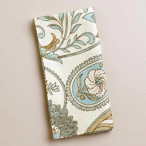 new printed napkins blue green.jpg