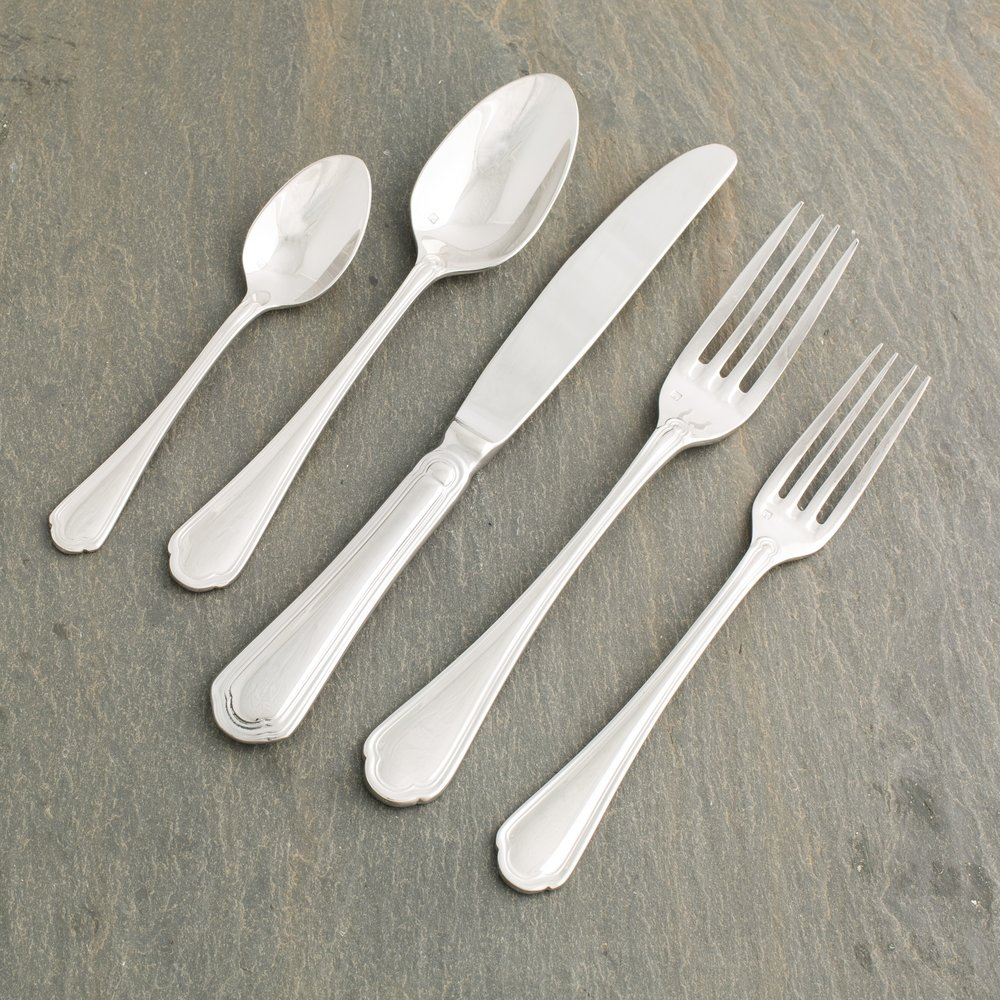 Tessa Flatware - Sedate and elegant, our new Tessa 18/10 flatware is a great choice for your gala, party, wedding, or rehearsal dinner.