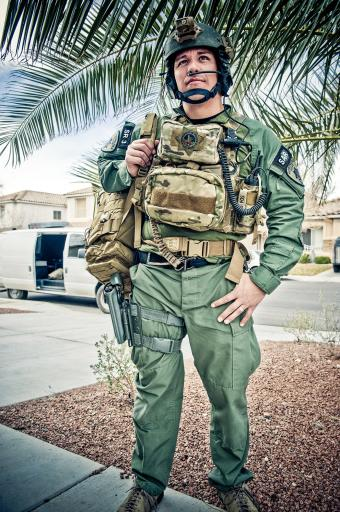 Officer David Vanbuskirk, 36, of Henderson, Nevada, was killed on July 23, 2013, when he fell during a nighttime aerial rescue mission in Las Vegas, Nevada. Vanbuskirk had been employed with the Las Vegas Metropolitan Police Department since 1999 and joined the elite Search and Rescue Team in 2007.
