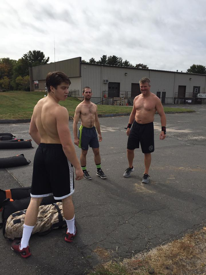 These dudes sometimes do the Running WOD.  Do you?