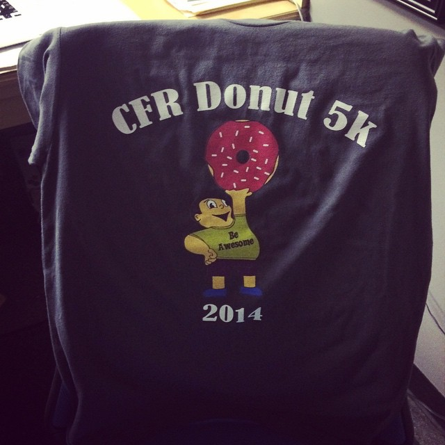 CFR's First Donut 5k was 2 years ago today