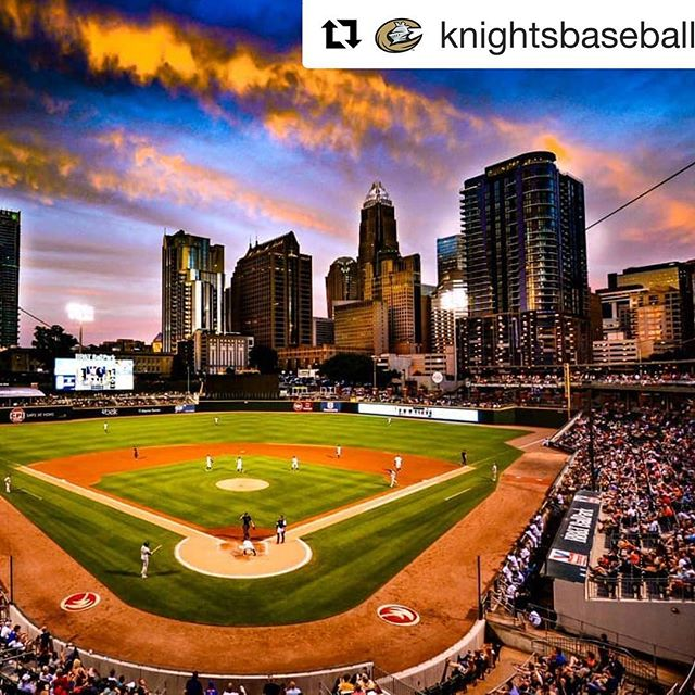 Incredible #repost pic from @knightsbaseball! We are lucky to call this great city our #T2FY home. . . . #Letsturntwo #turntwo #T2FY #turntwoforyouth #baseball #youthbaseball #giveback #donate #donateclt #charlottesgotalot #teamsports #teamwork #donatecharlotte #givebackcharlotte #thankyou #charlotteknights #charlotteknightsbaseball #charlottebaseball
