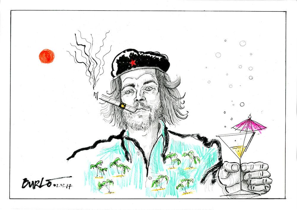 Che Guevara in Acapulco