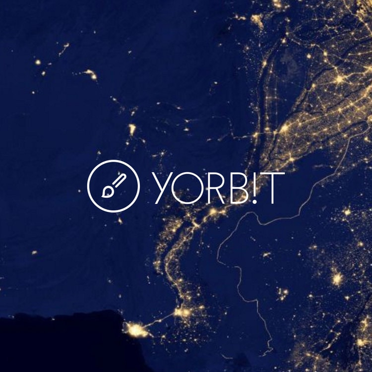 Yorbit. Concept, logo, app development.