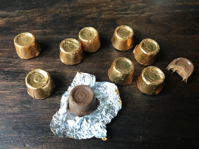 These are real Rolos and they are SAD tasting compared to my homemade version.