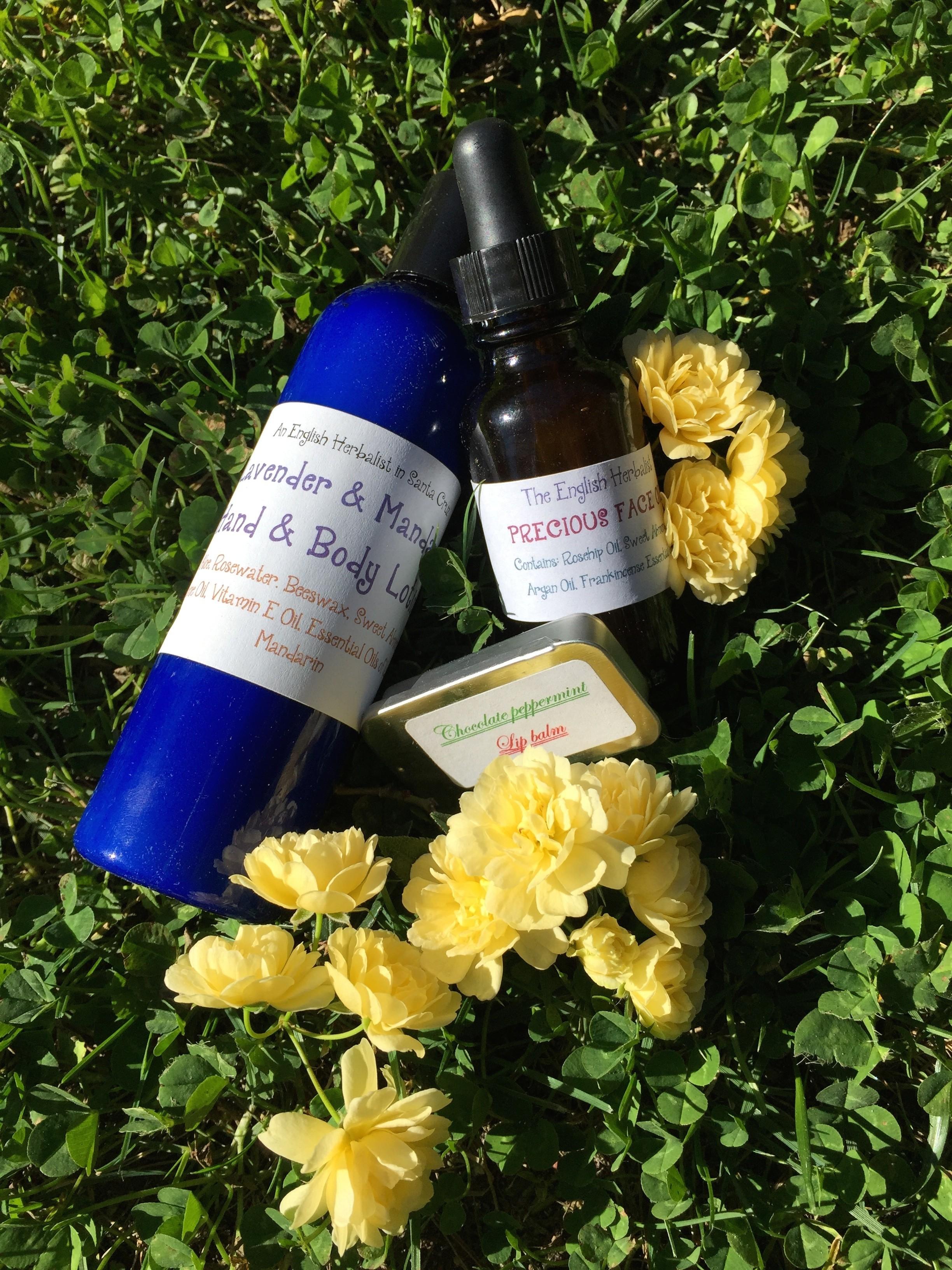skincare herbs