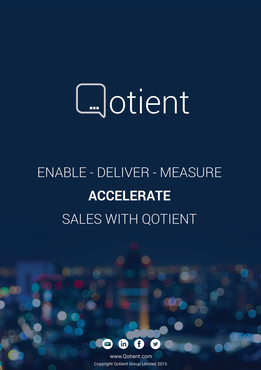 Sales acceleration CRM