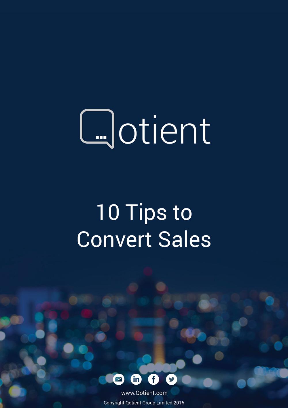 Convert Sales