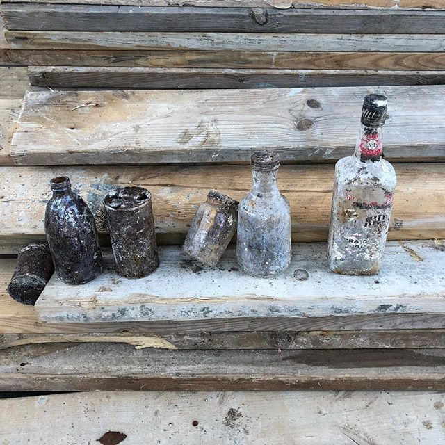 Excavation at our South 5th project turned up some interesting objects #michaelhsuarchitecture #risingerbuild