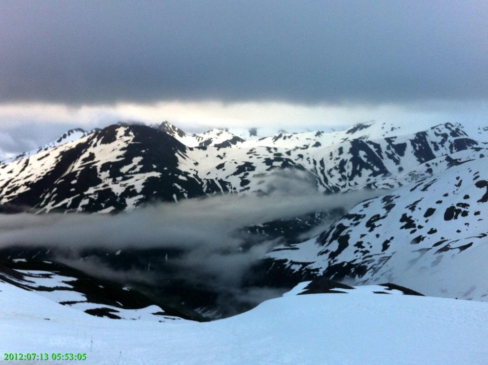 Alaska, somewhere along the Canadian Border, 2012.