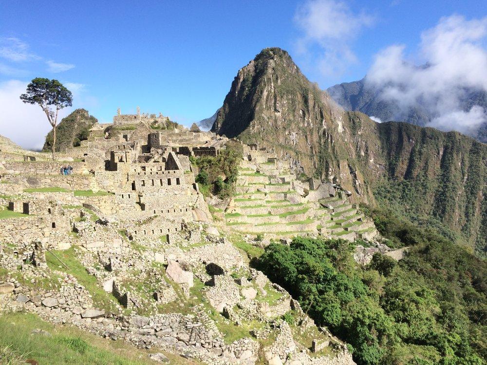 Machu Picchu, no words needed.