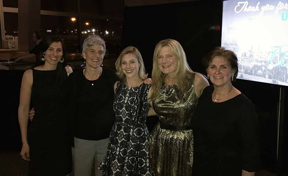 Pictured above from left: Urban Venture's Laura Weinstein, Studio PBA's Kathy Parker, UV's Mariel Beaudoin, Cassie Wright and Susan Powers