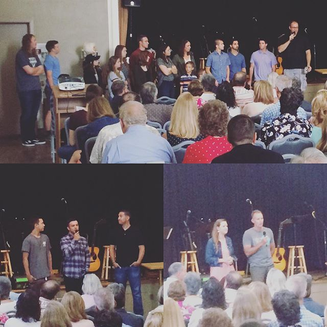 We had a great Sunday of sharing from 5 different International Missions team! We also sent off the Nicaragua Team. Please be praying for them this week! #missiontrip
