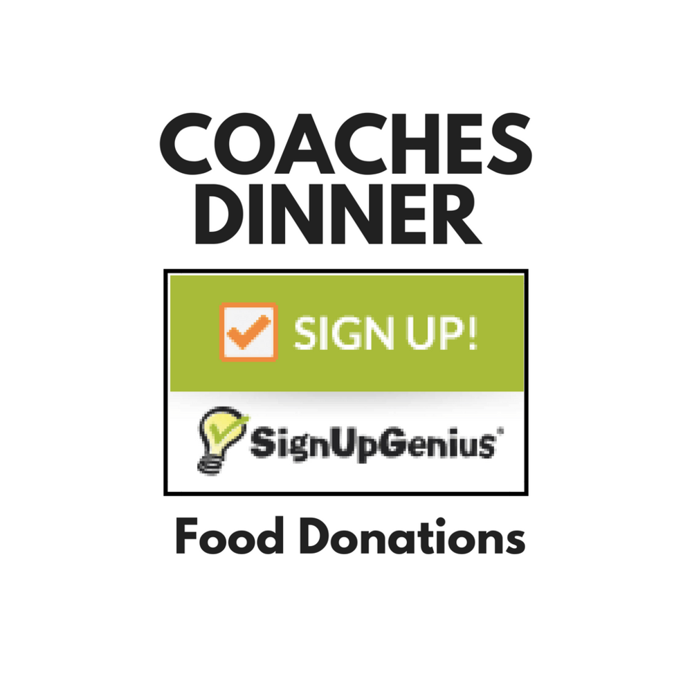 After camp each evening, we cook and serve dinner to our tired hungry coaches. Sign up to donate food items for these meals.