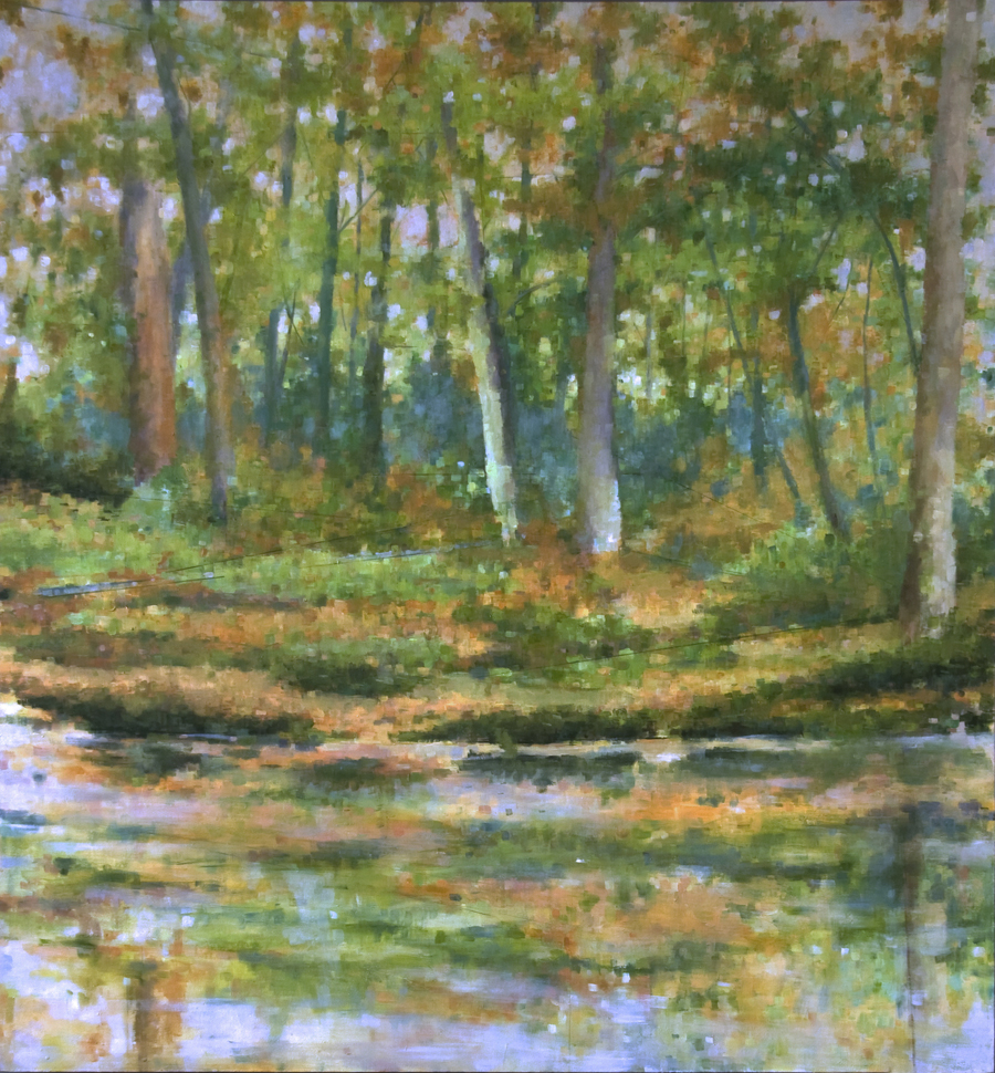 """November Morning"", 2012, oil on canvas, 58"" x 46"""